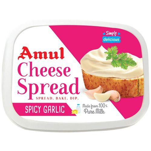 Amul Cheese Spread Garlic 200G