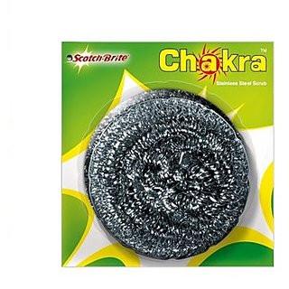 Scotch Brite Chakra Steel Scrub 11gms