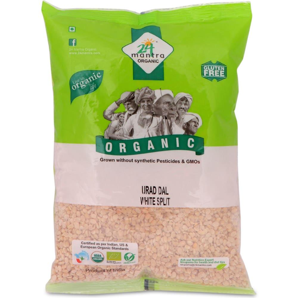 24 Mantra Organic Urad Dhuli Split 500G