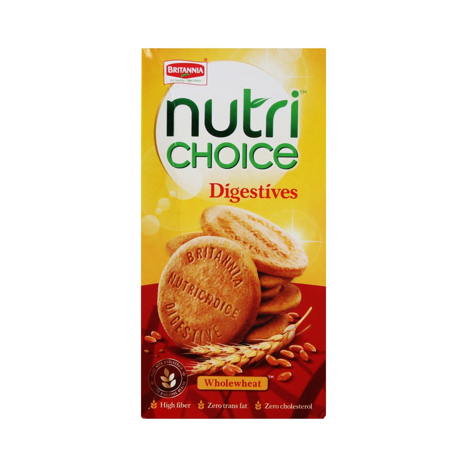 Britannia Nutri Choice Digestive Biscuits 250G