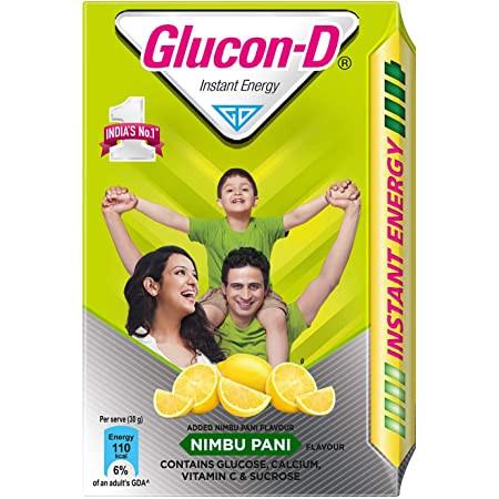 Glucon D Lime 450G Refill