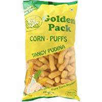 Corn Puffs Pudina 130g by Hully Gully