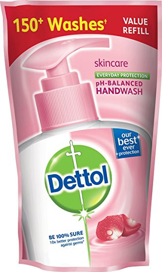 Dettol Skin Care Everyday Protection Handwash 175ml