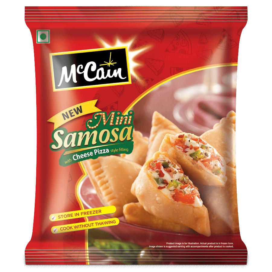 McCain Mini Samosa - Pizza Cheese 240G