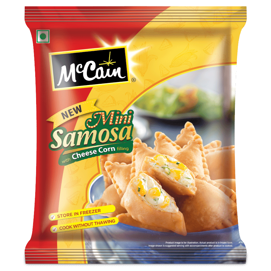 McCain Mini Samosa - Cheese Corn 240G