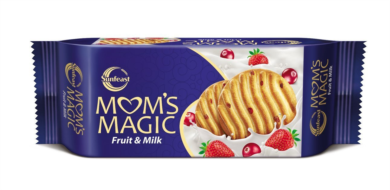 Sunfeast Mom's Magic Fruit & Milk Biscuits
