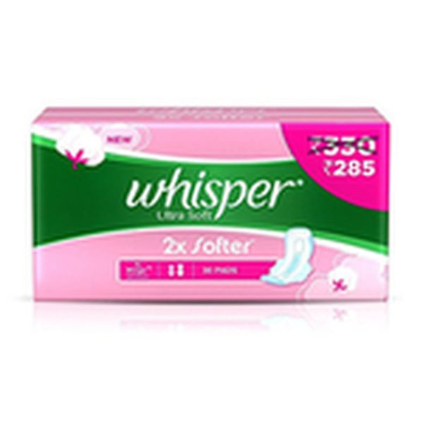 Whisper Ultra Soft XL Pack of 30
