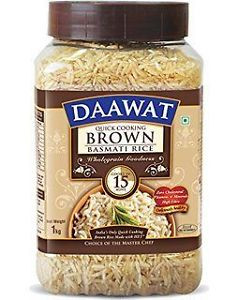 Daawat Brown Rice 1Kg Jar