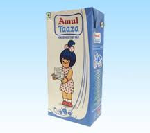 Amul Taaza Milk 1 L