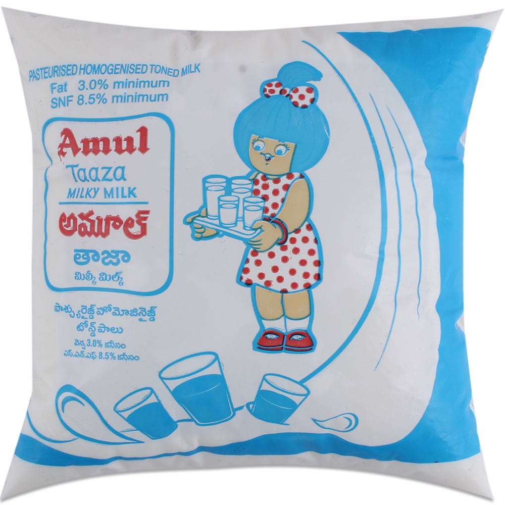 Amul Taaza Milk 500Ml