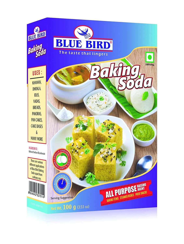 Blue Bird Baking Soda 100G