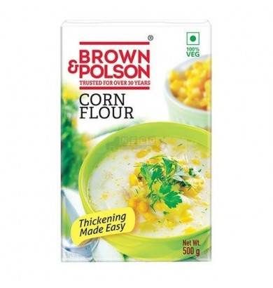 Brown & Polson Cornflour 500Gm