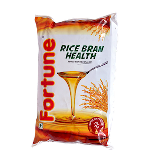 Fortune Rice Bran Oil 1L Poly Pack