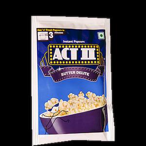 Act 2 Instant Pop Corn Butter Delite 56G