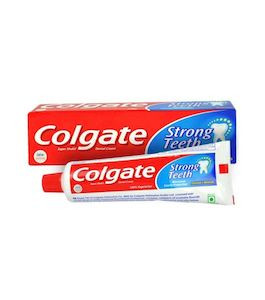 Colgate Toothpaste Strong Teeth With Cavity Protection  200G