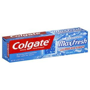Colgate Toothpaste Max Fresh Blue 150G