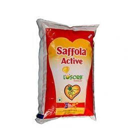 Saffola Active Oil 1L Poly Pouch