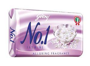 Godrej No.1 Jasmine Soap 100G Pack Of 4
