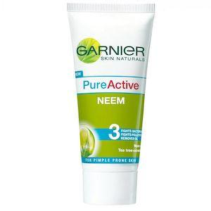 Garnier Pure Active Neem Face Wash 50Ml
