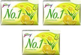 Godrej Soap Lime & Aloe Vera 150G Pack Of 3