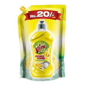 Vim Drop Dish Wash Active Gel Lemon 130Ml