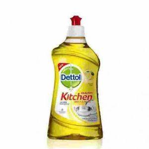 Dettol Dish Wash Liquid Lemon 400Ml