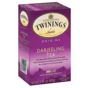 Twinings Darjeeling Tea Pack of 25 bags