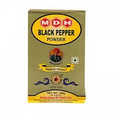Mdh Black Pepper Powder 100G