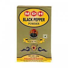 Mdh Black Pepper Powder 100G