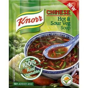 Knorr Chinese Hot & Sour Veg Soup 47G