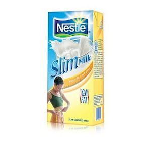 Nestle Milk Skimmed 1L
