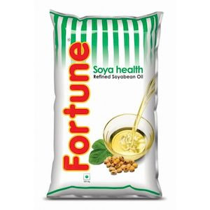 Fortune Soya Oil 1L Poly Pack