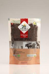 24 Mantra Organic Mustard Small 100G