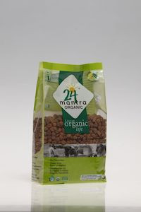 24 Mantra Organic Brown Channa Whole 500G