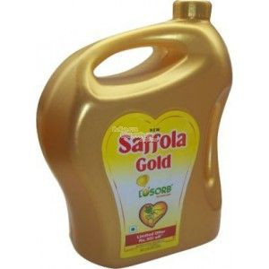 Saffola Gold Oil 5L Jar