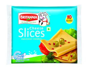 Britannia Cheese Slice 480G