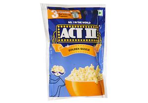 Act 2 Instant Pop Corn Golden Sizzle 90G