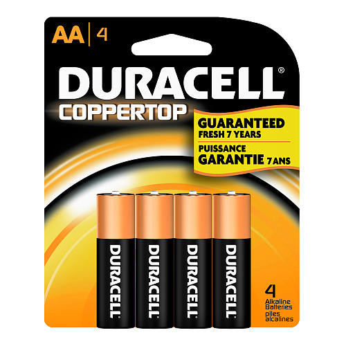 Duracell Aa4 Pack Of 4Pcs Battery