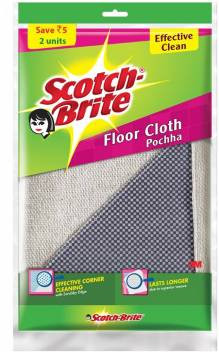 Scotch Brite Floor Mop Cotton 2s Pack
