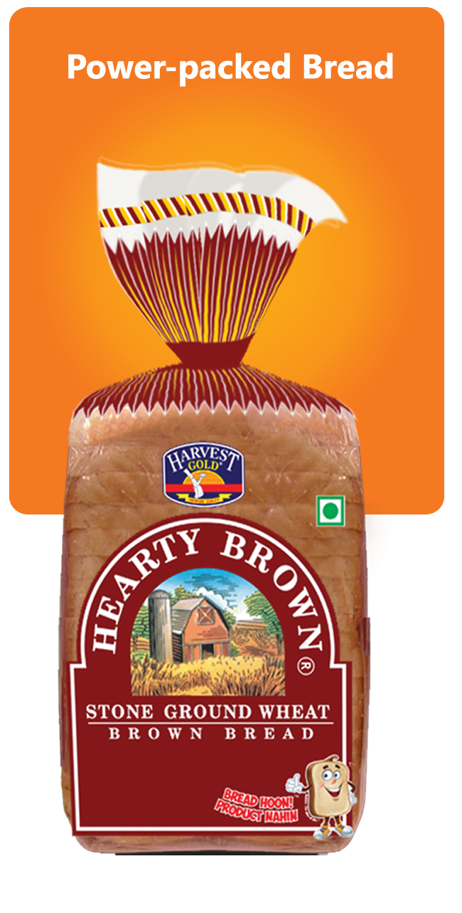Harvest Gold Whole Wheat Bread 450 Gm