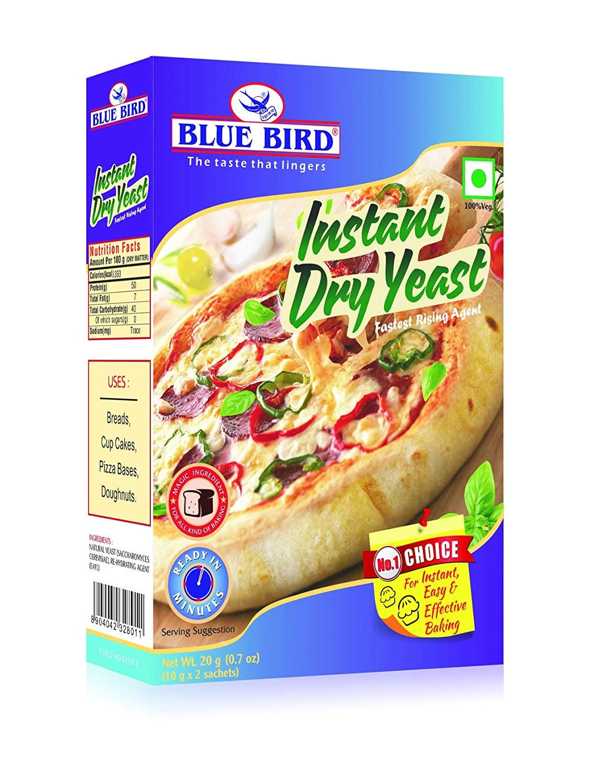 Blue Bird Instant Dry Yeast 20G