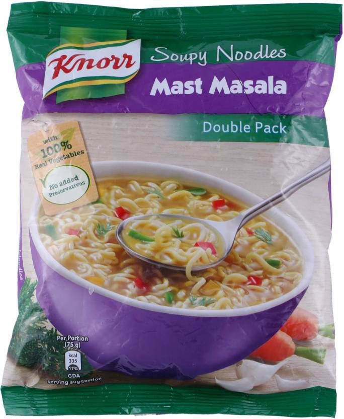 Knorr Soupy Noodles Mast Masala  Double Pack
