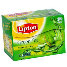 Lipton Green Tea Tulsi Natural 25 Bag