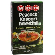 Mdh Peacock Kasoori Methi 25 Gm