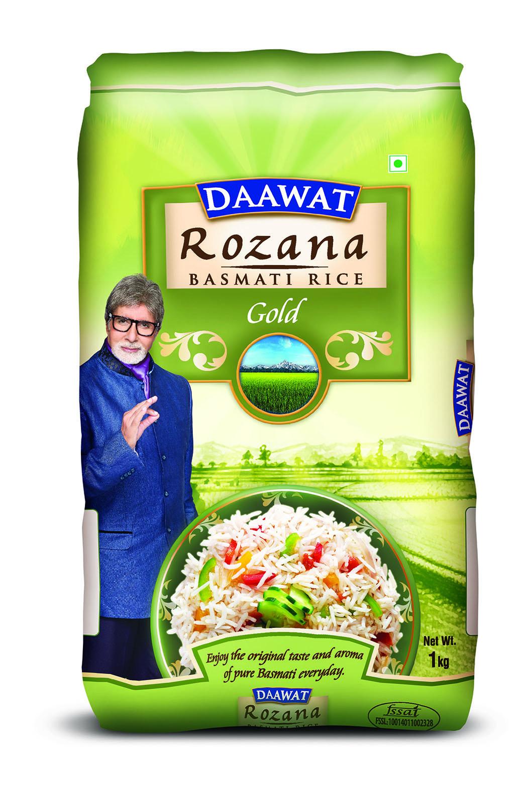 Daawat Rozana Gold Basmati 1Kg