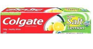 Colgate Toothpaste Active Salt Healthy White Salt & Lemon 100Gm