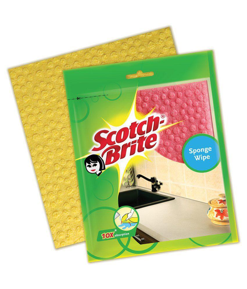 Scotch Brite Sponge Wipe 5s
