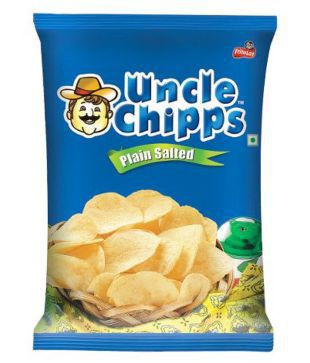 Uncle Chips Plain Salted 66G