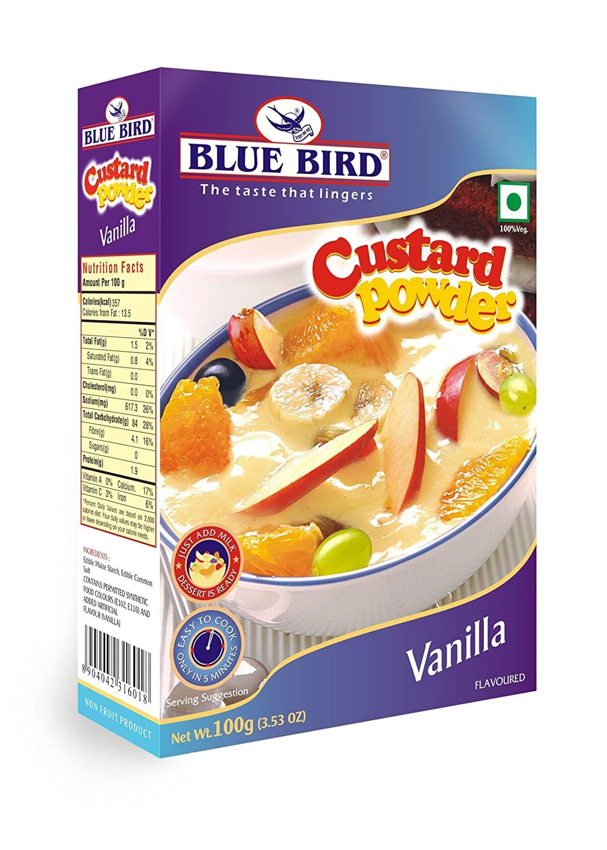 Blue Bird Custard Powder - Vanilla 100G