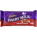 Cadbury Dairy Milk Fruit & Nut 36Gm